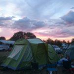 Morning sky camping Semaine Epinal 2018
