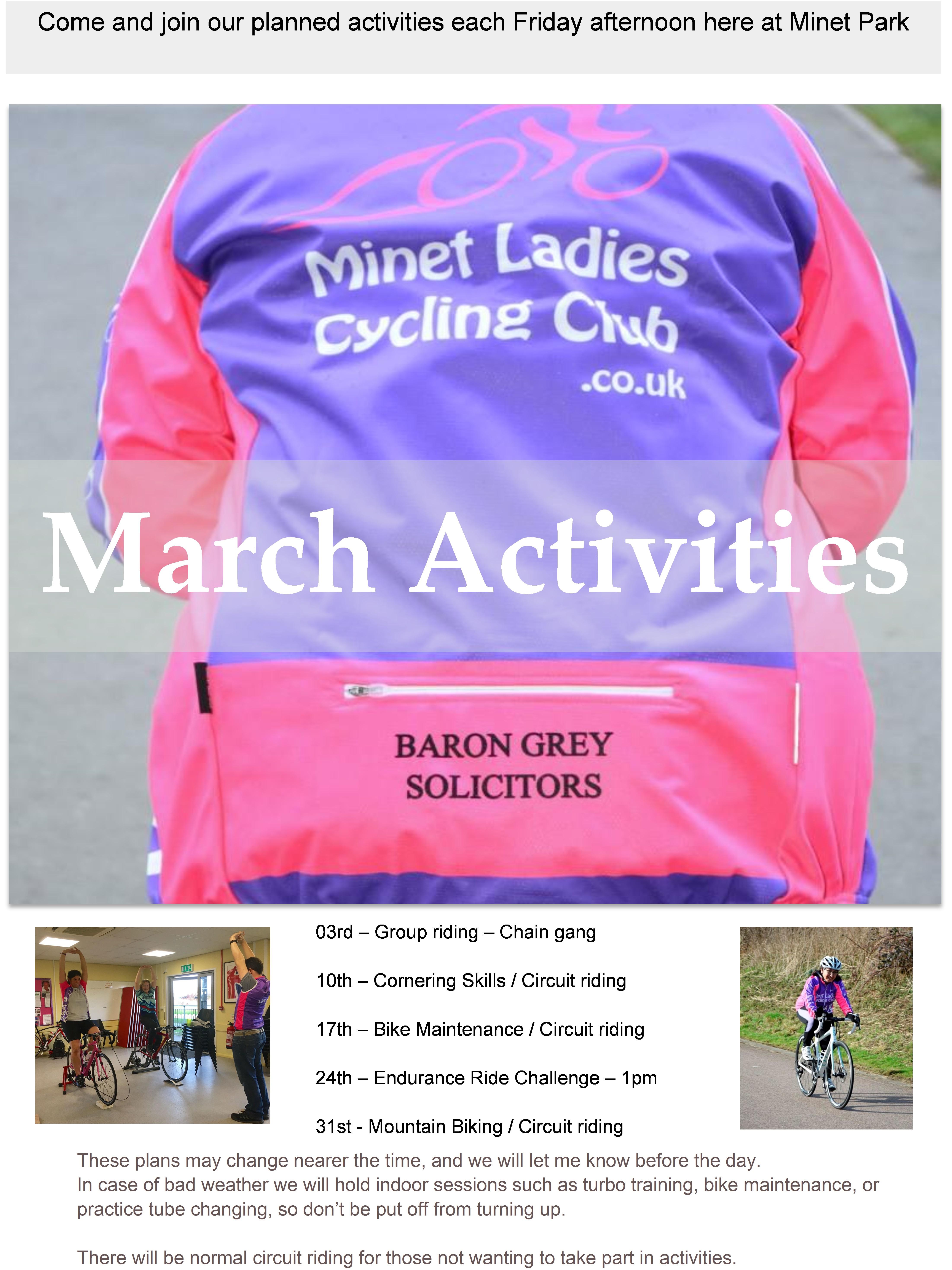 Activities mar 17
