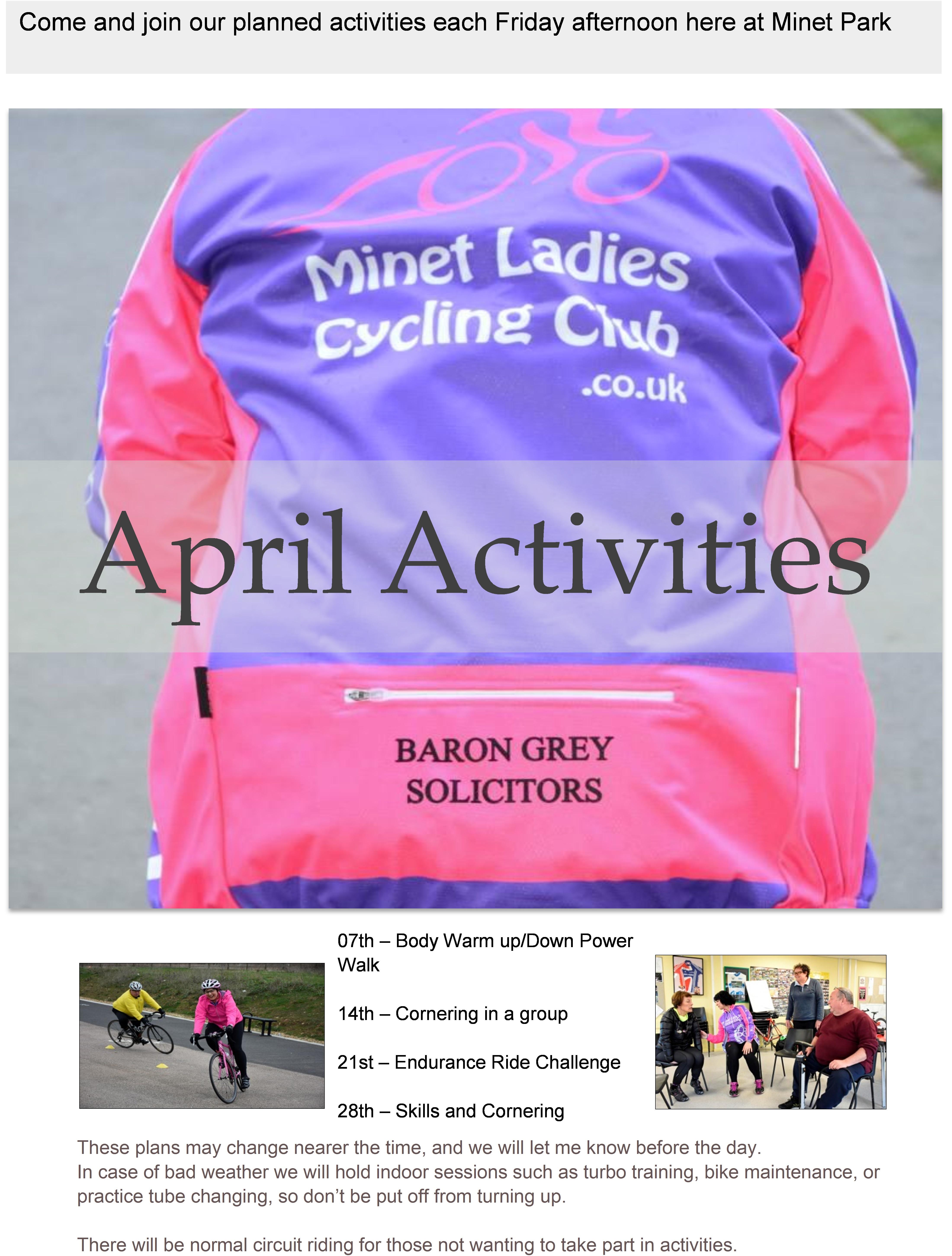 Activities April 17