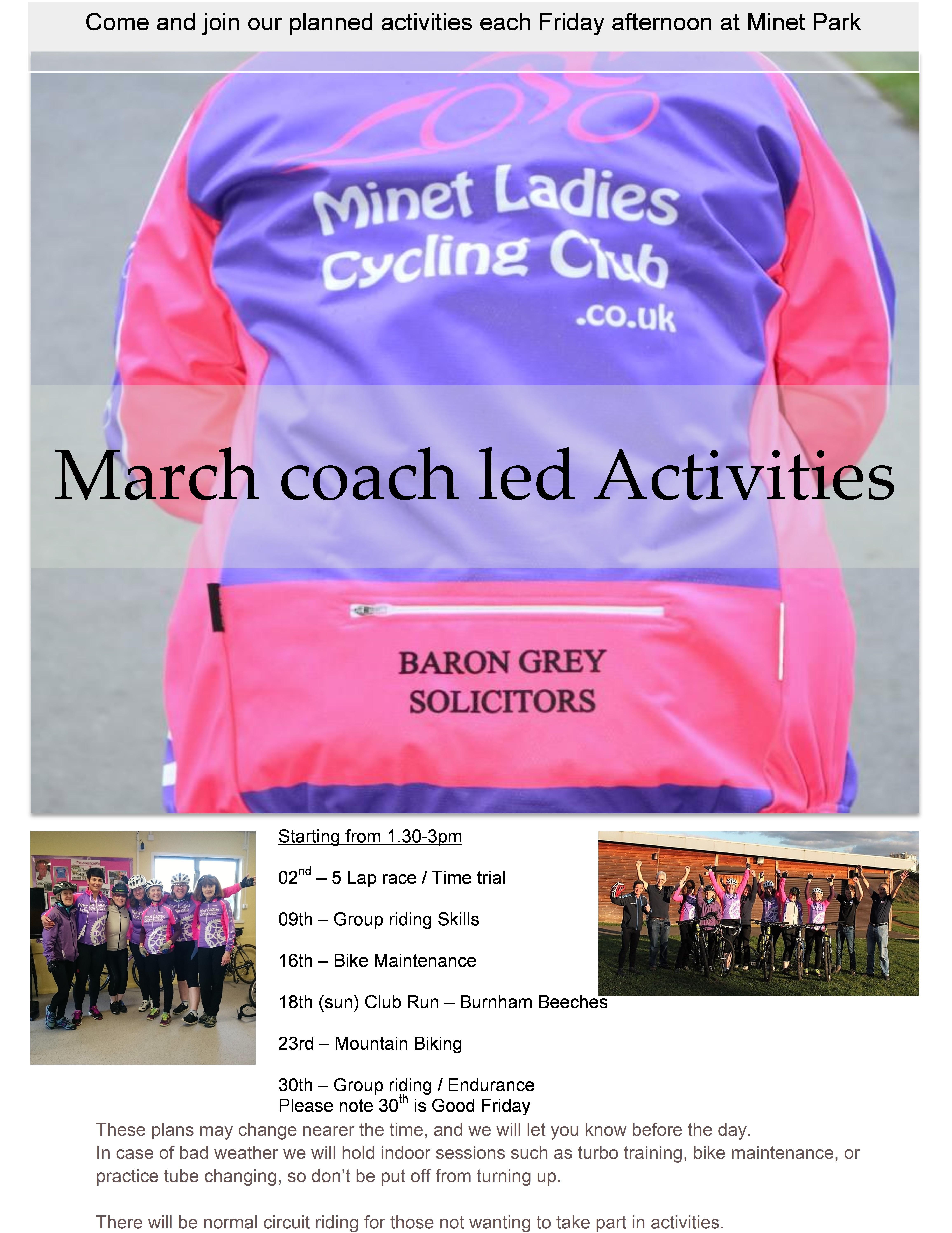 March Activities 18