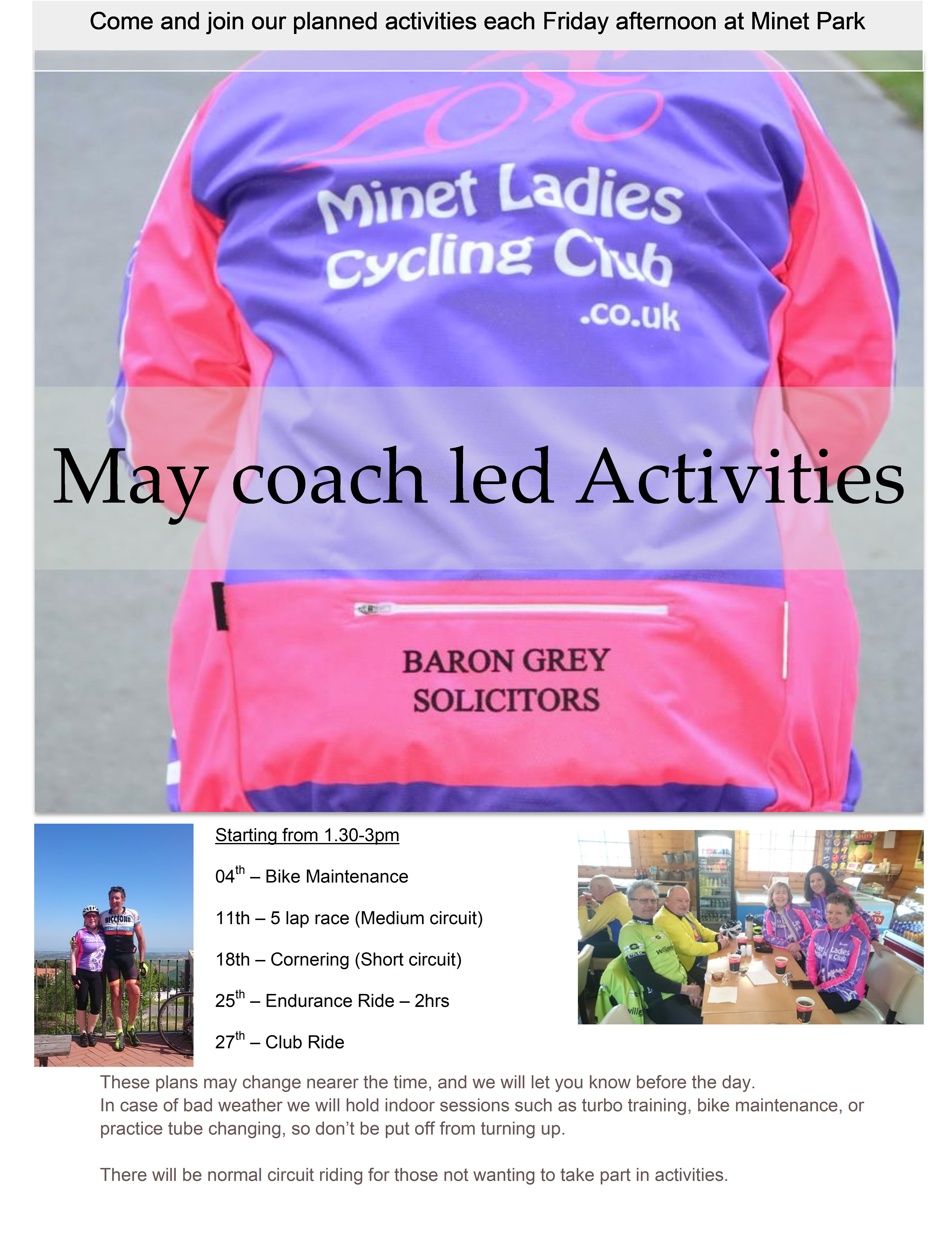 May Activities 18