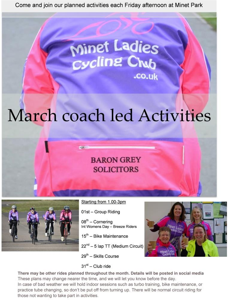 March Activities 19 2